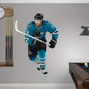Joe Pavelski Fathead Wall Decal
